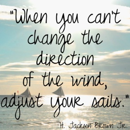 Change the Direction Quote